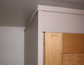 coffrage de l'armoire