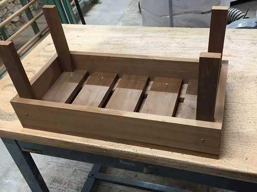 Fabriquer une jardinière en bois 5