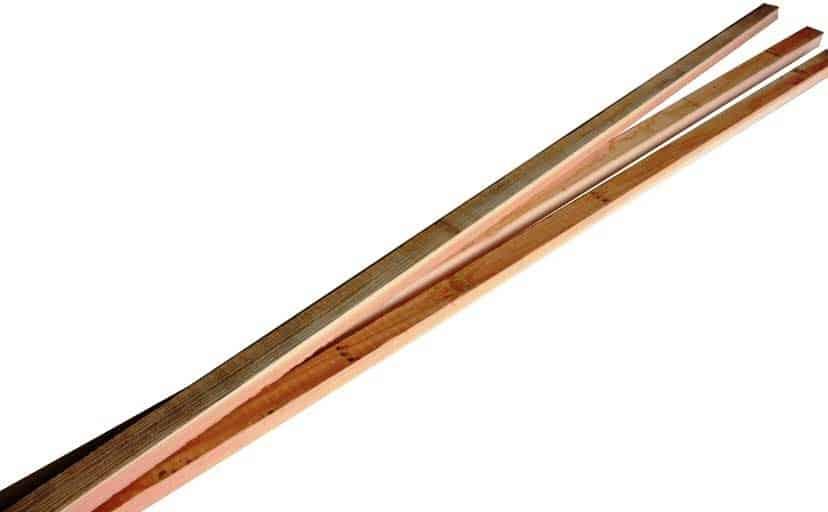 Tasseaux Mélèze Massif 2m - 40 X 30mm (x10)