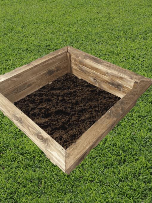 carré potager en bois traité