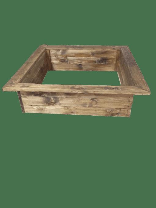 jardinière en bois traité