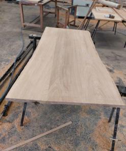 planche chêne brut pour comptoir
